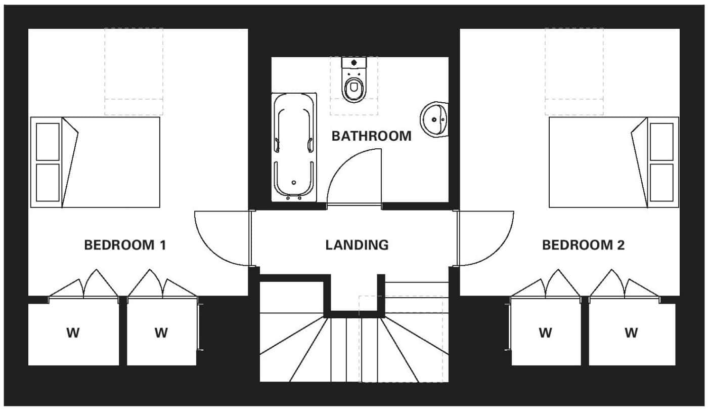 R2 First Floor Floor Plan