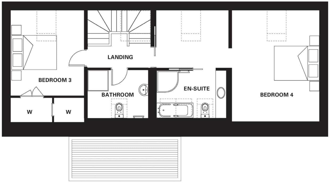 R3 First Floor Floor Plans