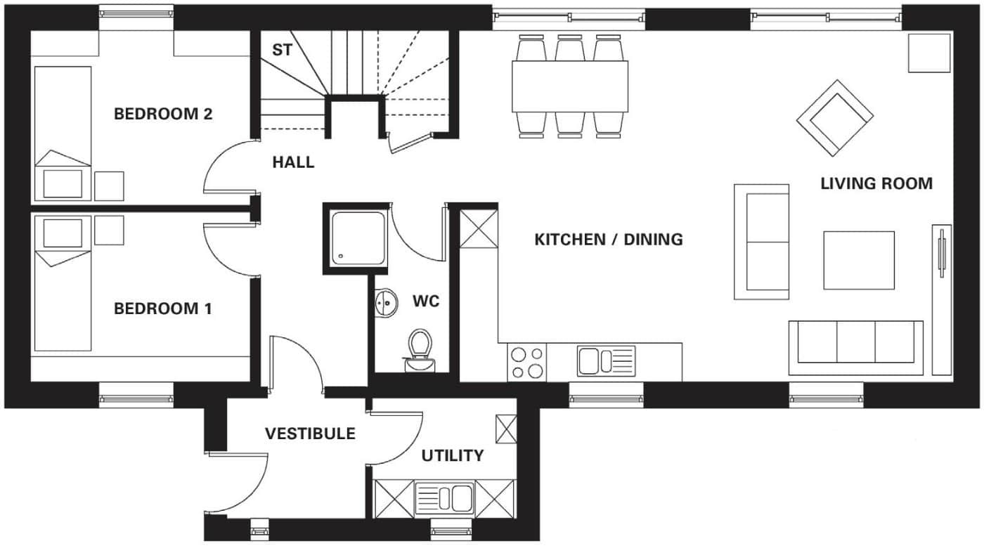 R3 Ground Floor Floor Plans