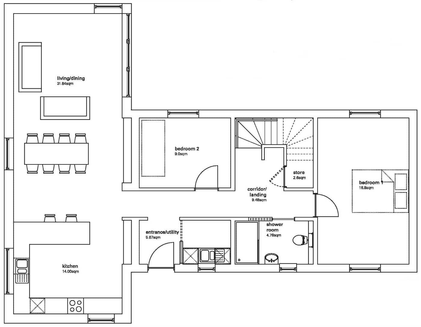 R4 First Floor Floor Plans