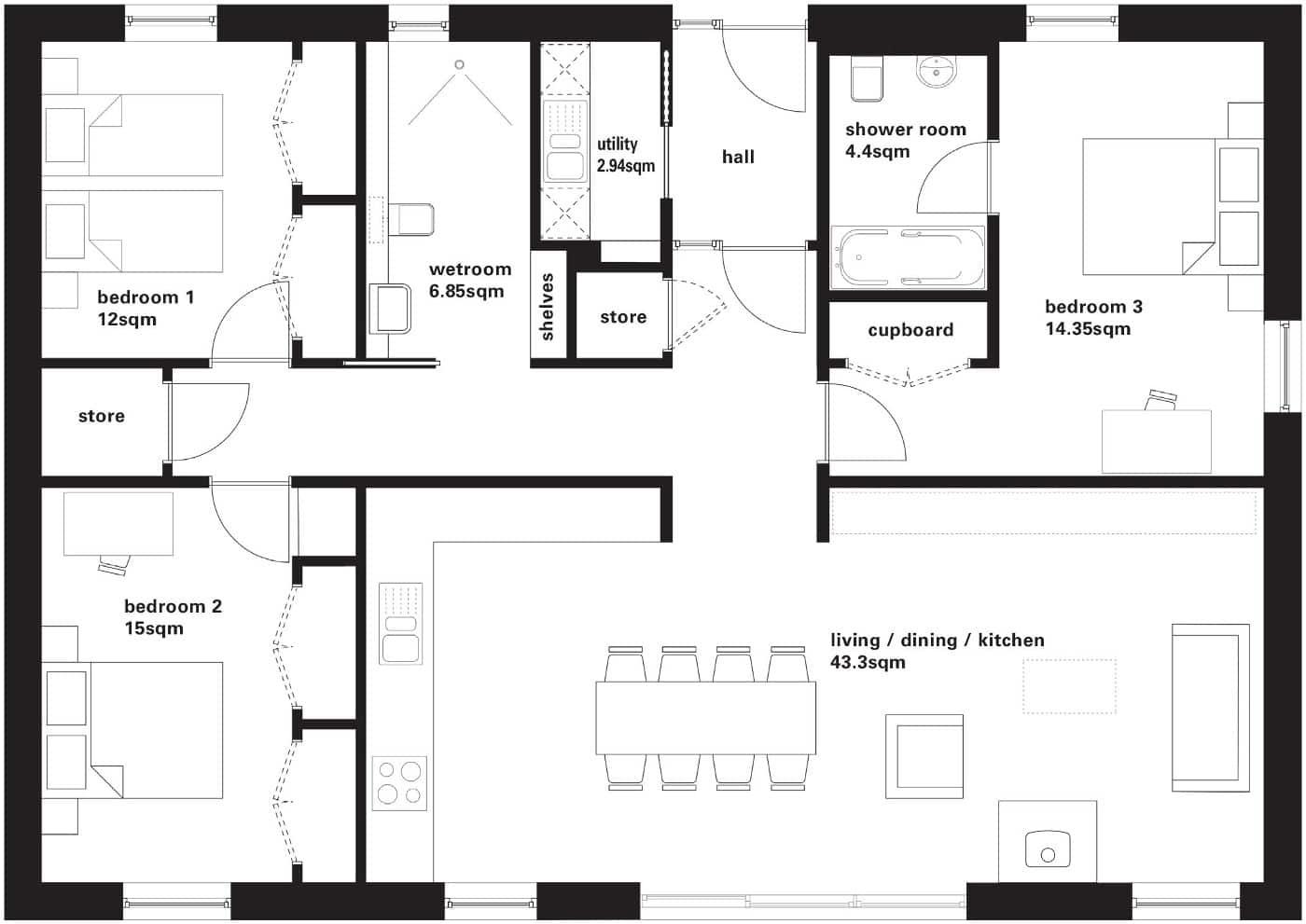 RB3 Floor Plan